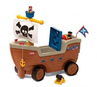 Barca Piratilor - Joaca-te Si Plimba-te, Little Tikes imagine