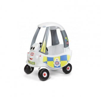 Masinuta de Politie alba, Cozy Coupe imagine