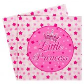 Servetele roz, Little Princess, 12 buc